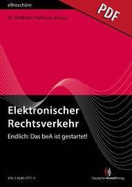 Elektronischer Rechtsverkehr 4/2016 - eBroschüre (PDF)