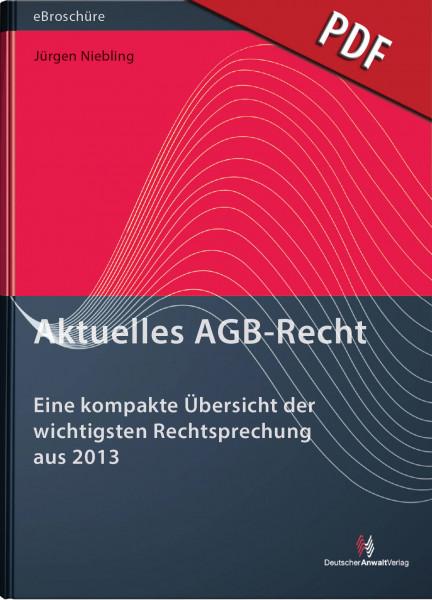 Aktuelles AGB-Recht - eBroschüre (PDF)