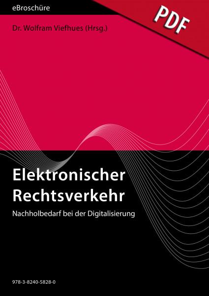 Elektronischer Rechtsverkehr - eBroschüre (PDF), Ausgabe 3/2021