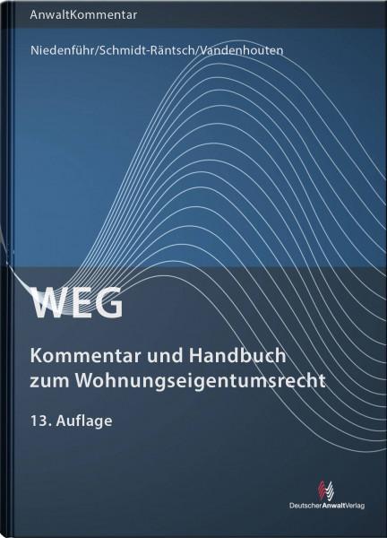 WEG - Kommentar und Handbuch zum Wohnungseigentumsrecht - Mängelexemplar