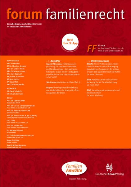 FF - Forum Familienrecht