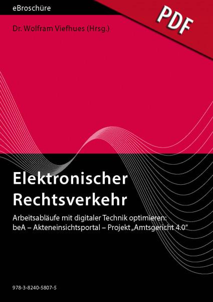 Elektronischer Rechtsverkehr 4/2019 - eBroschüre (PDF)