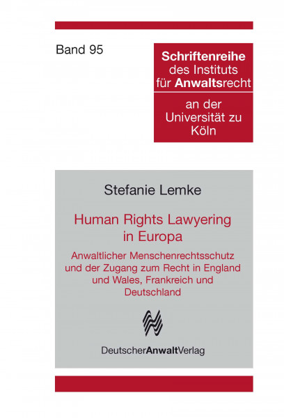 Human Rights Lawyering in Europa, Band 93