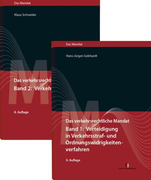 """Paket """"Das verkehrsrechtliche Mandat"""", Band 1 und 2 -Sonderpreis für Mitglieder der ARGE Verkehrsrecht im DAV"""