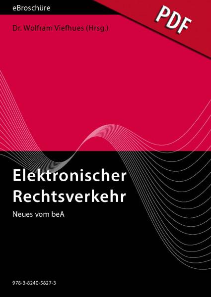 Elektronischer Rechtsverkehr - eBroschüre (PDF), Ausgabe 2/2021