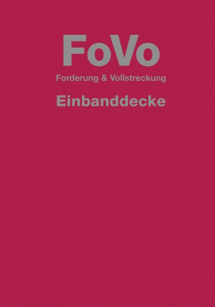 FoVo - Forderung und Vollstreckung Einbanddecke