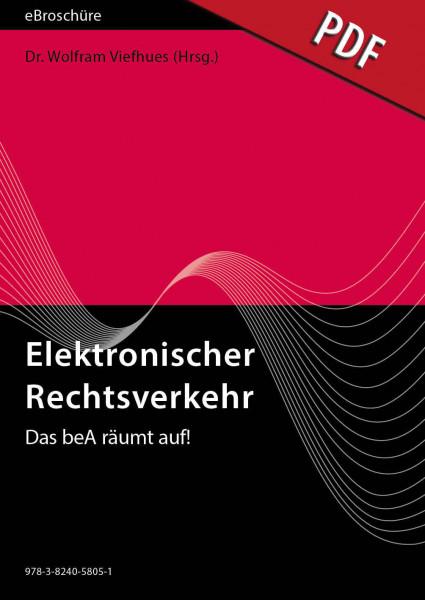 Elektronischer Rechtsverkehr 2/2019 - eBroschüre (PDF) - Das beA räumt auf!
