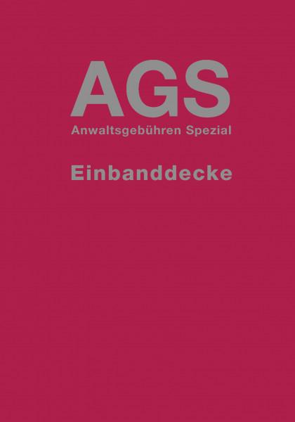 AGS - Anwaltsgebühren Spezial Einbanddecke