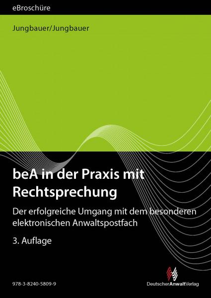 beA in der Praxis mit Rechtsprechung