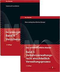 """Paket """"Das verkehrsrechtliche Mandat"""", Band 3 und 4"""