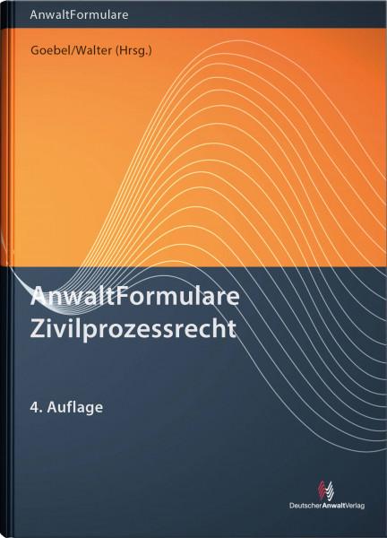 AnwaltFormulare Zivilprozessrecht