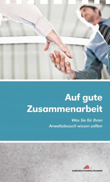 """Broschüre """"Ihr Anwaltsbesuch"""" (25er Paket)"""