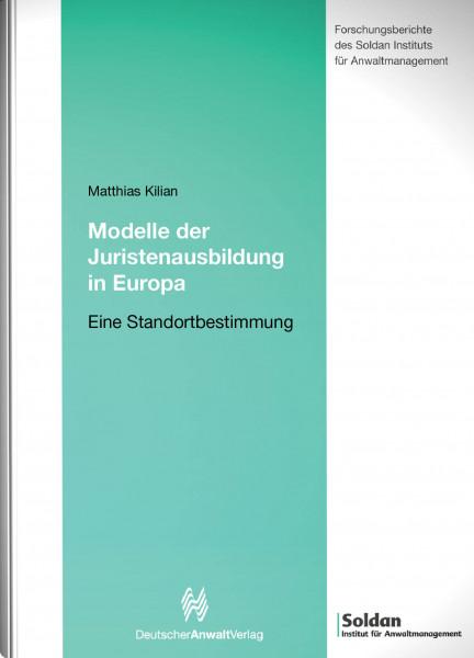 Modelle der Juristenausbildung in Europa