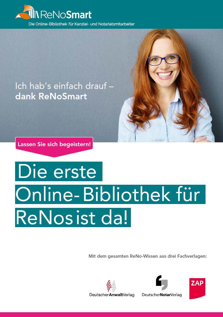 Buchhandelsinfo ReNoSmart