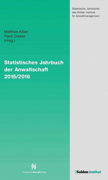 Statistisches Jahrbuch der Anwaltschaft 2015/2016